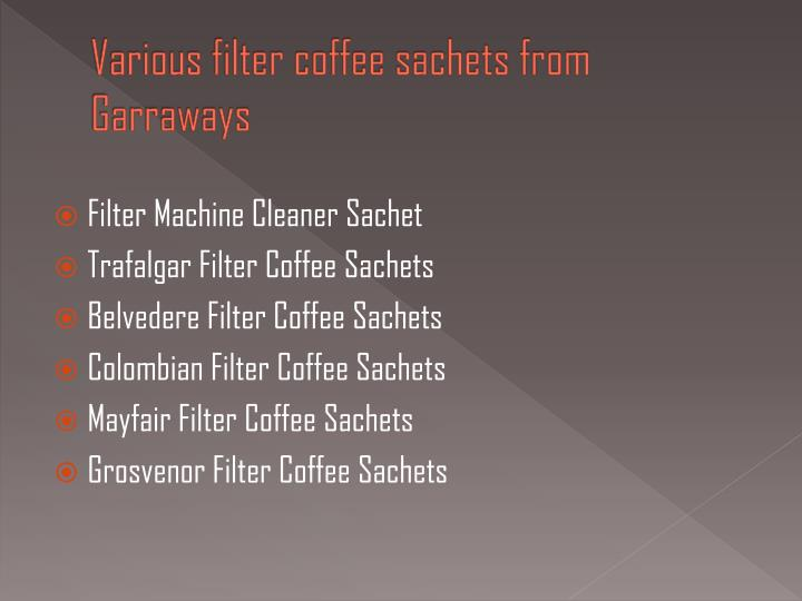 Various filter coffee sachets from garraways l.jpg