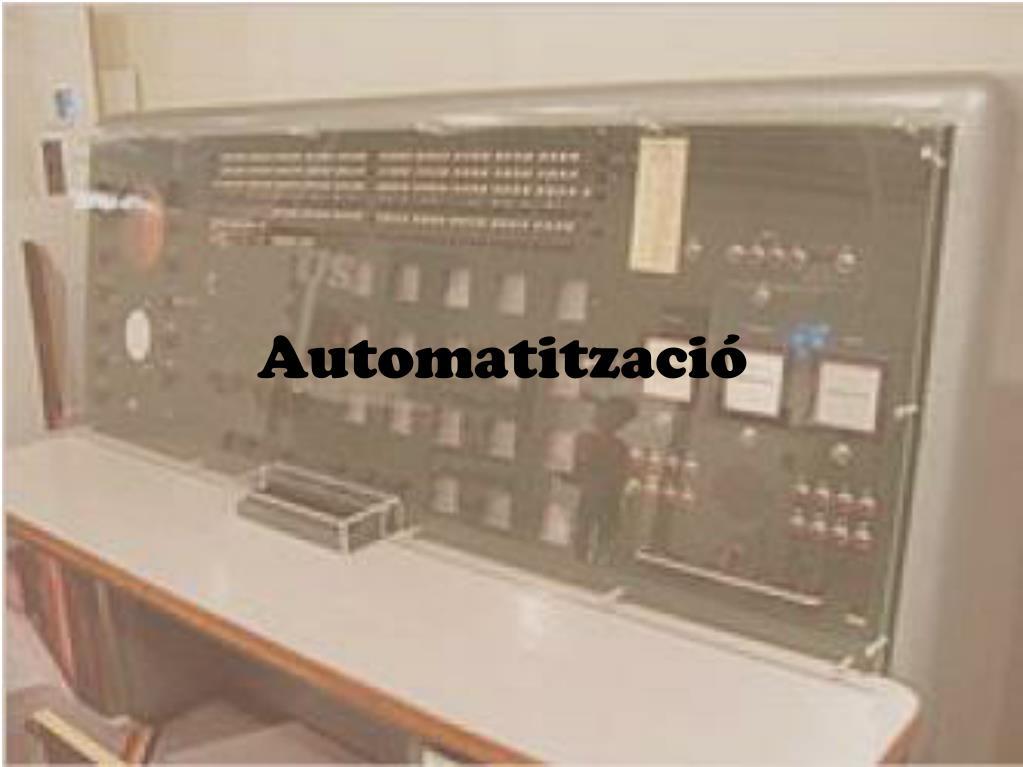 Automatització