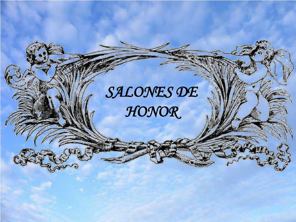 SALONES DE HONOR