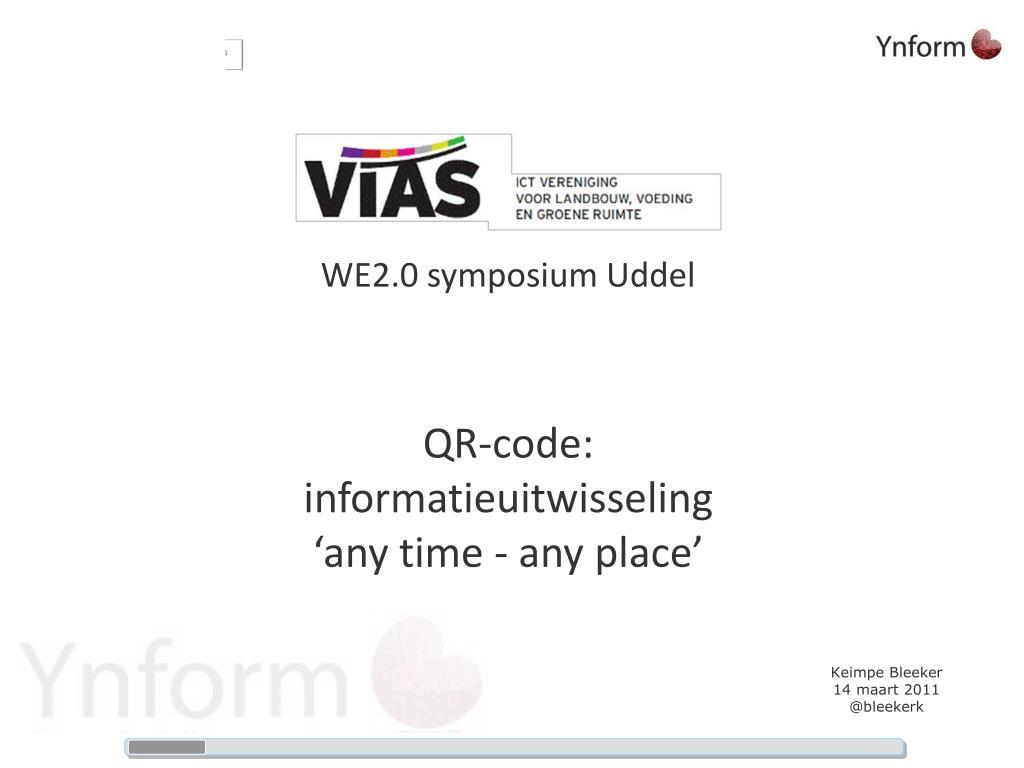 WE2.0 symposium