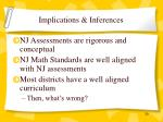 implications inferences