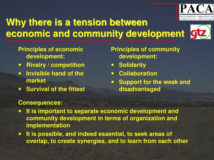 Principles of economic development: