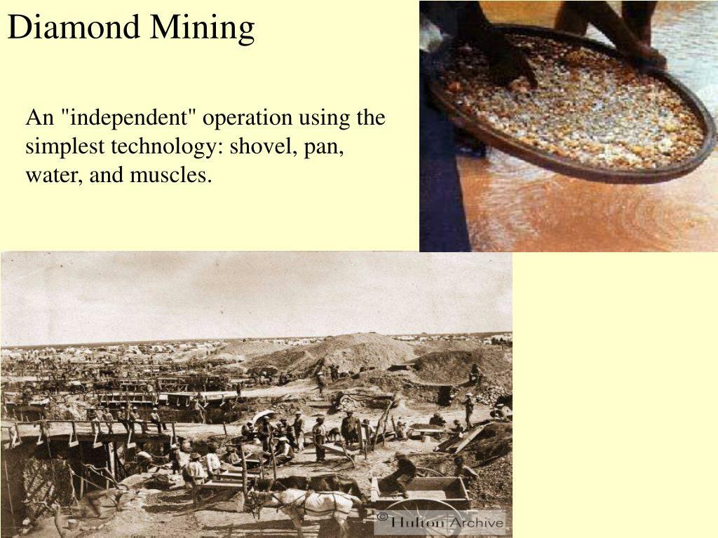 Diamond Mining