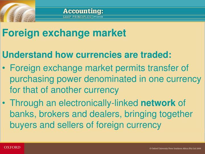 Forex market ppt 2010