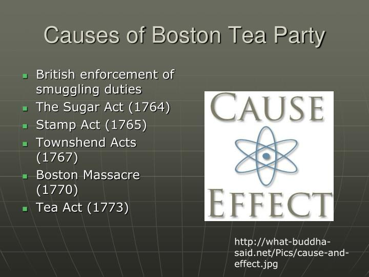 boston tea party term paper