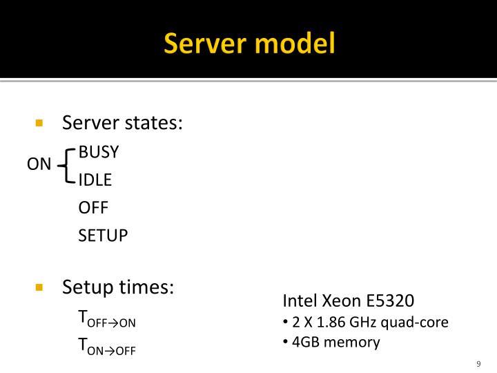 Server model
