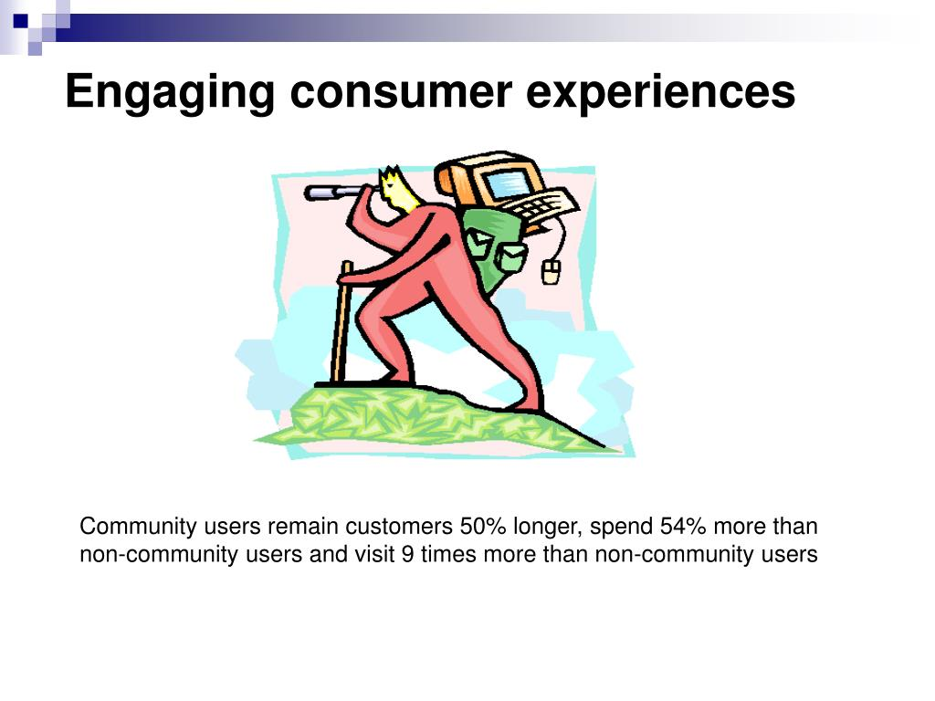 Engaging consumer experiences