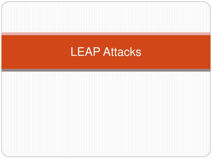 LEAP Attacks