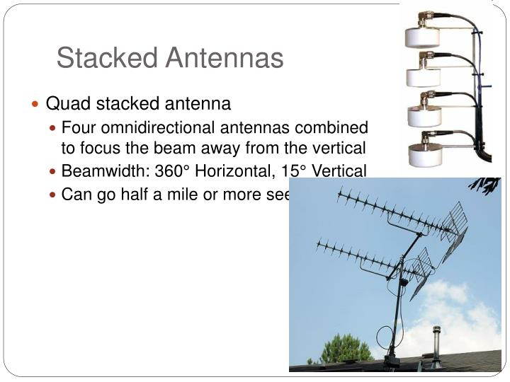 Stacked Antennas