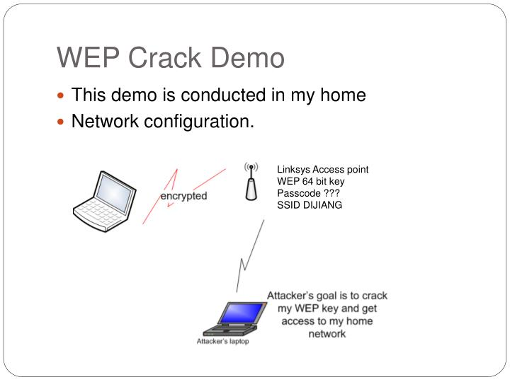 WEP Crack Demo