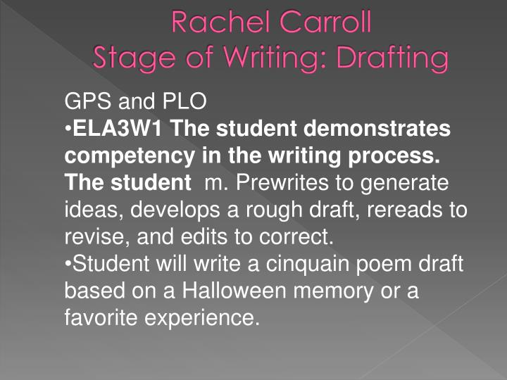 Rachel Carroll