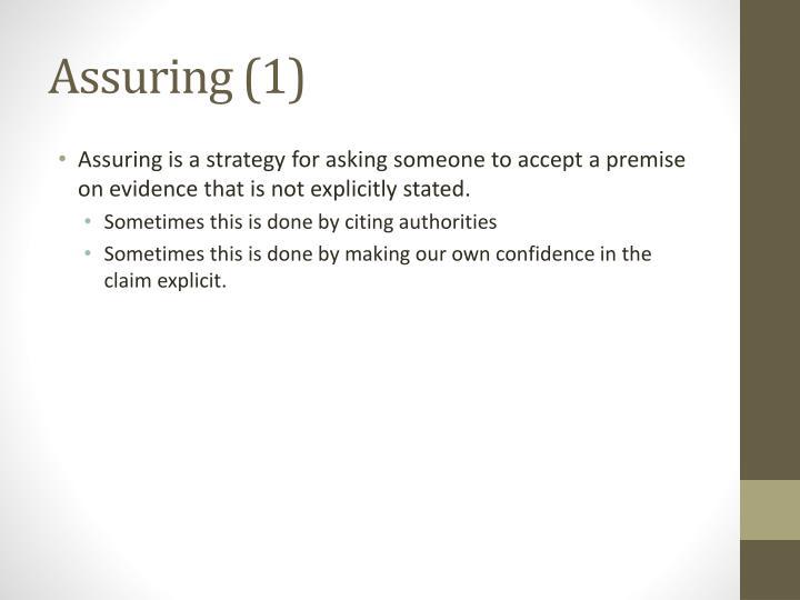 Assuring (1)