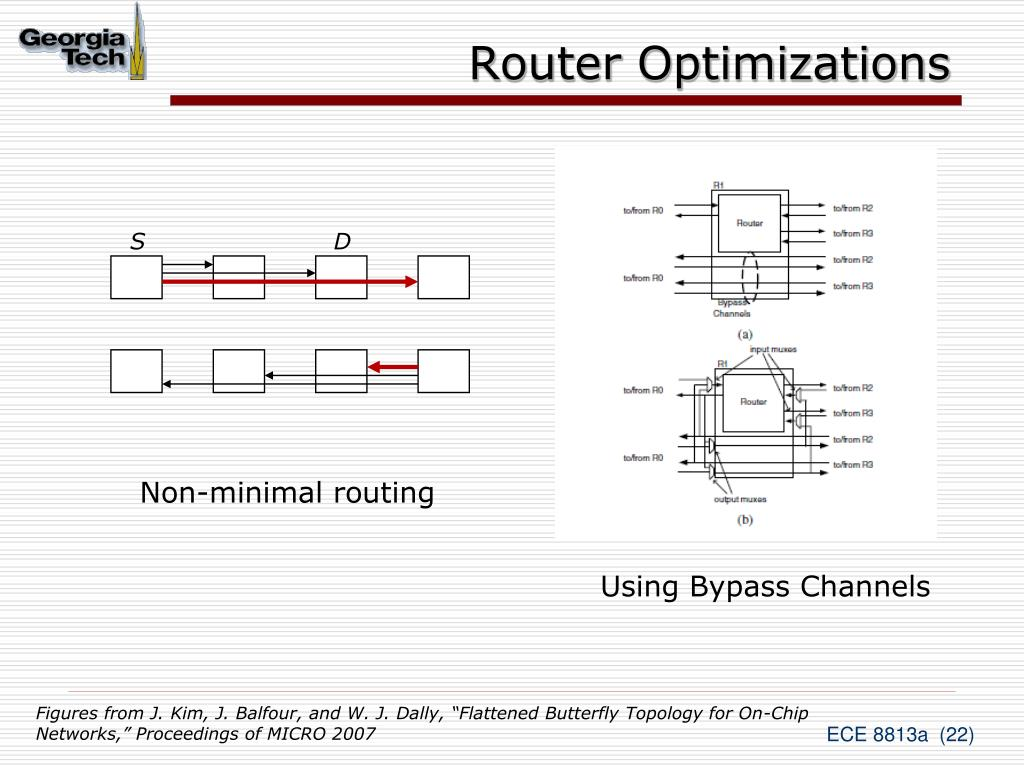 Router Optimizations