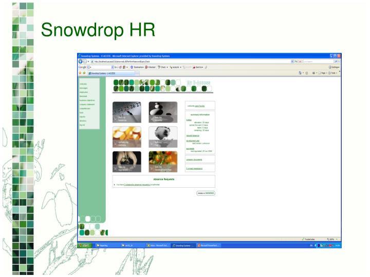 Snowdrop HR