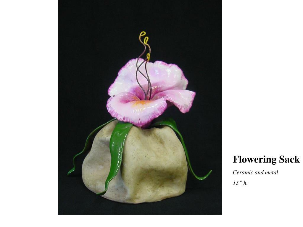 Flowering Sack