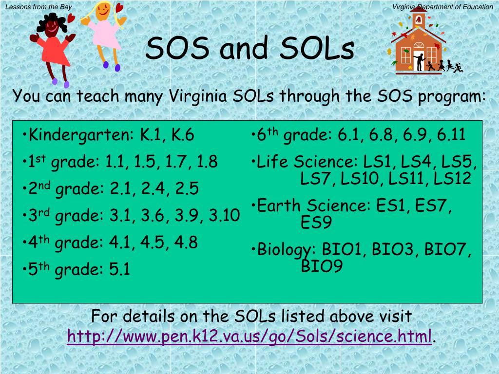 SOS and SOLs