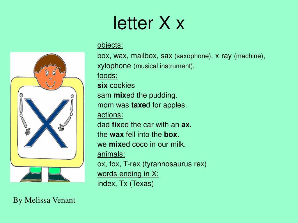 letter X x
