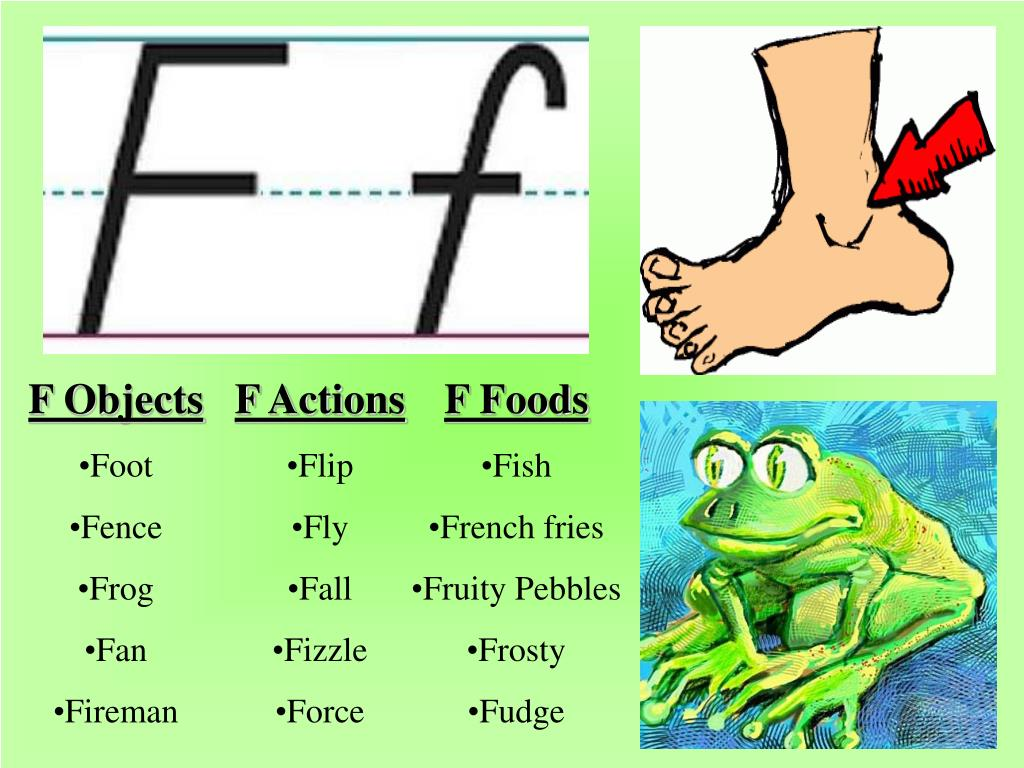 F Objects