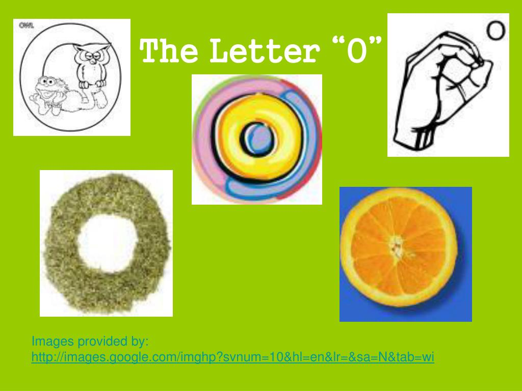 "The Letter ""O"""