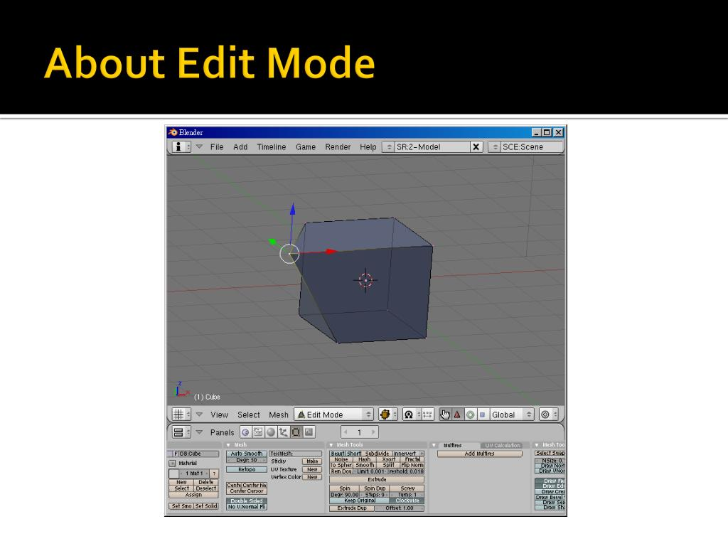 About Edit Mode