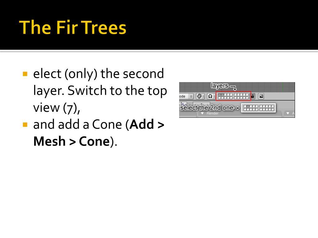The Fir Trees