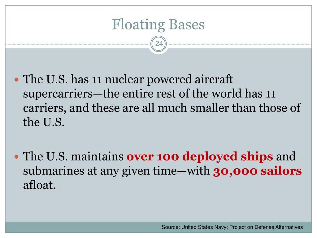 Floating Bases