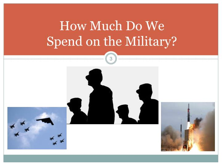 How much do we spend on the military l.jpg