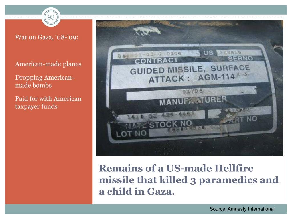 War on Gaza, '08-'09: