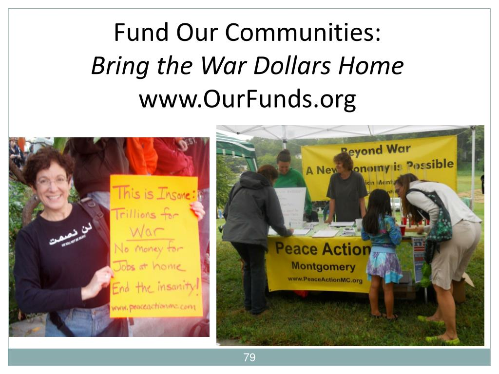 Fund Our Communities: