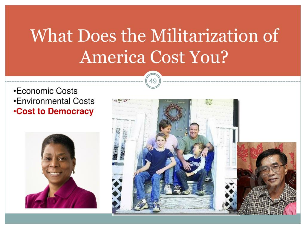 What Does the Militarization of America Cost You?