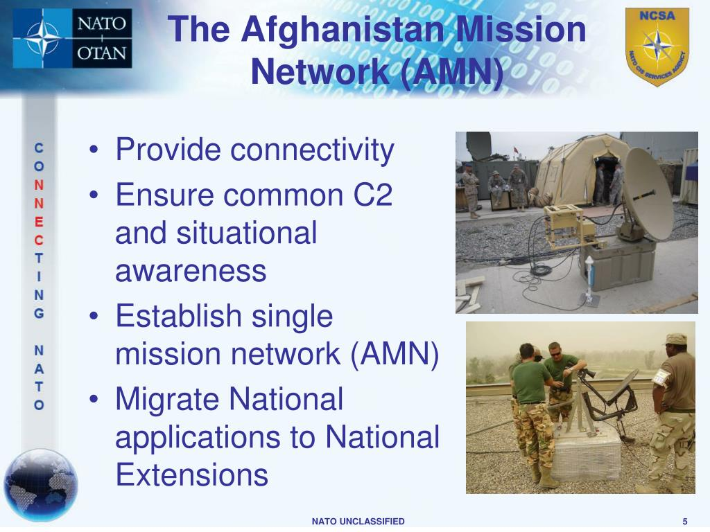 The Afghanistan Mission Network (AMN)