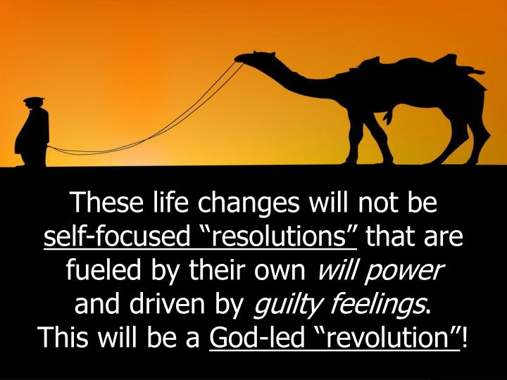 These life changes will not be