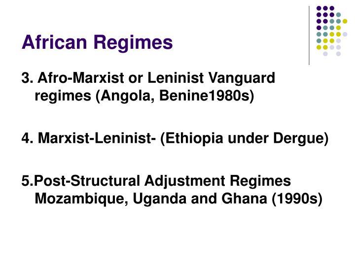 African Regimes