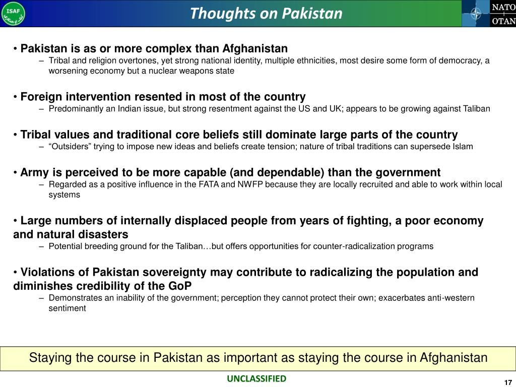Thoughts on Pakistan