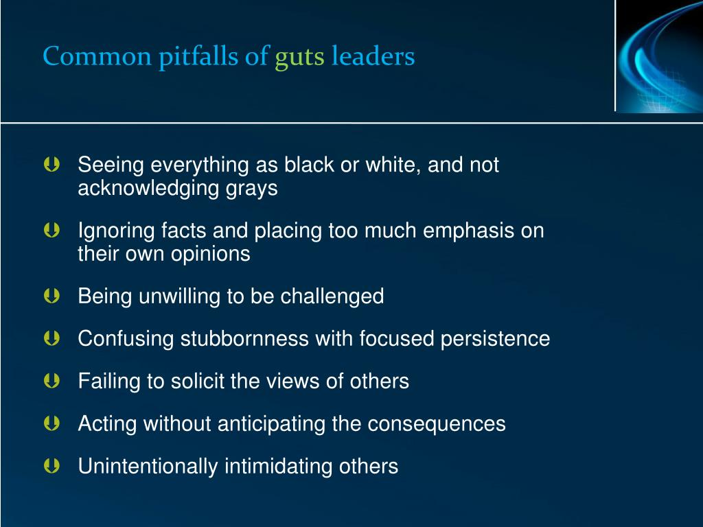 Common pitfalls of