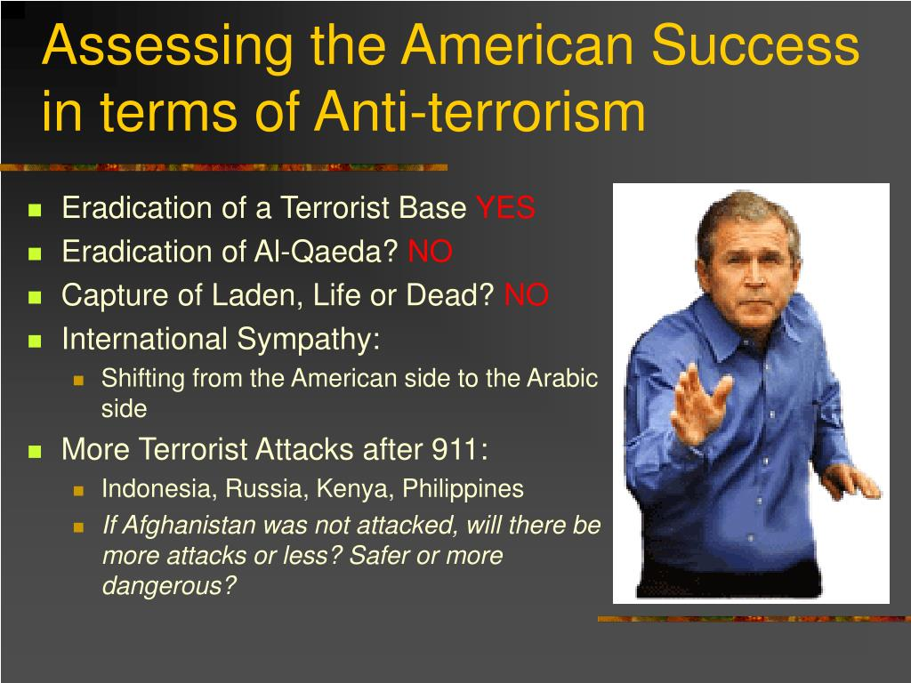 Assessing the American Success in terms of Anti-terrorism