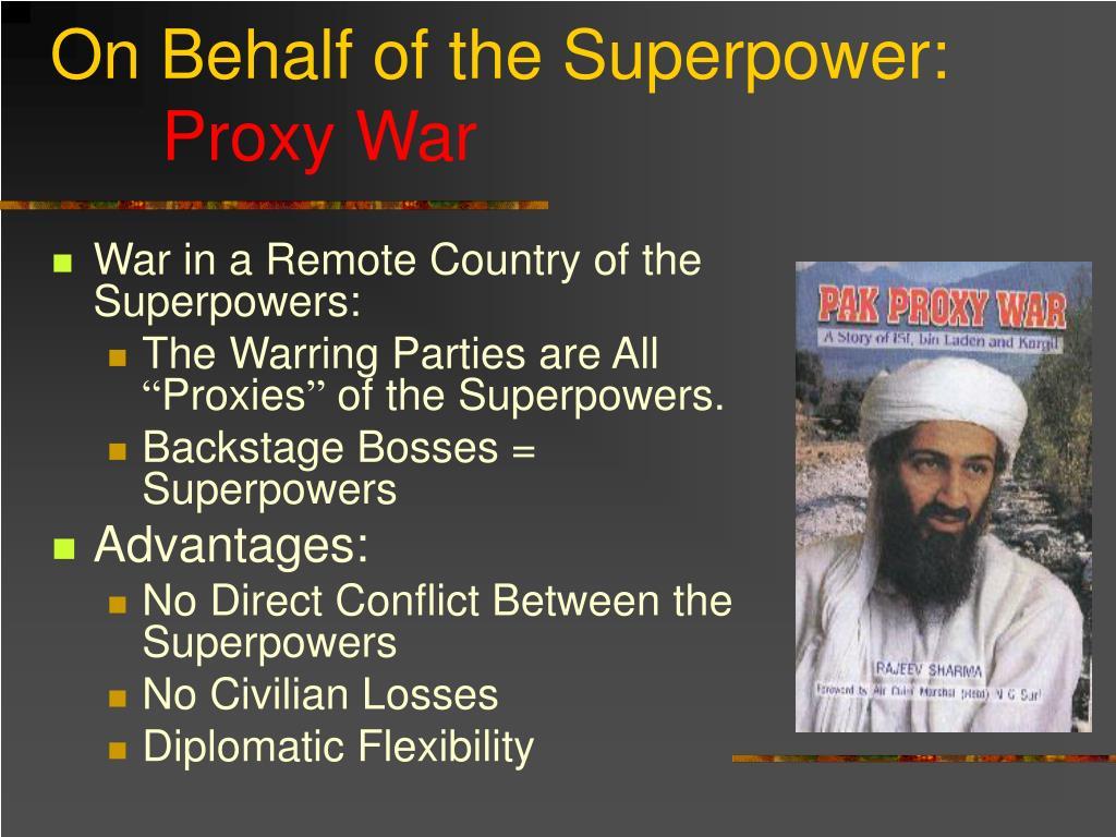 On Behalf of the Superpower: