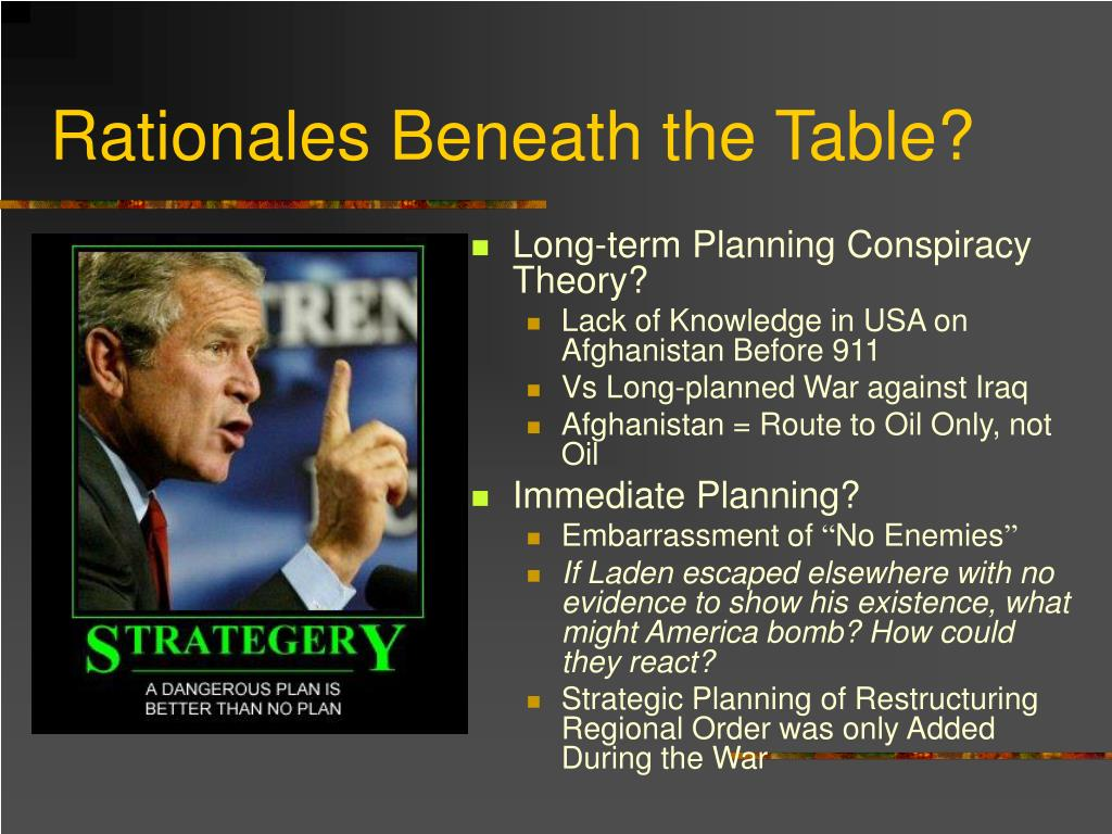 Rationales Beneath the Table?