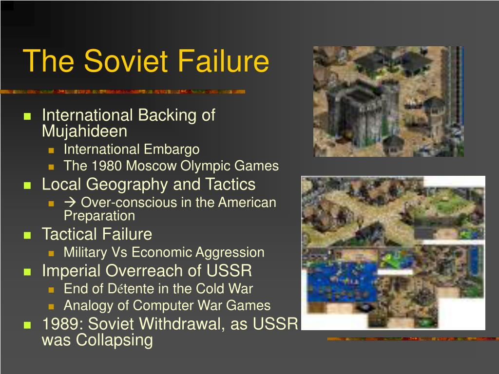 The Soviet Failure