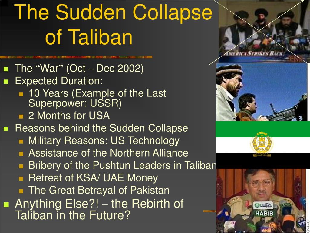 The Sudden Collapse