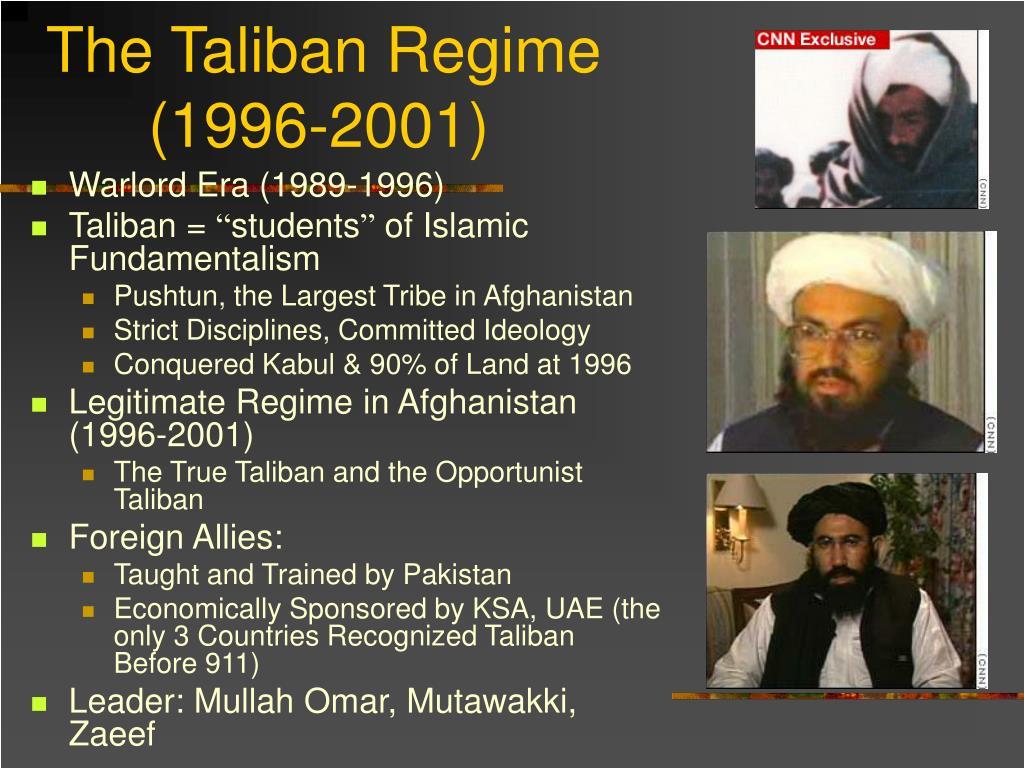 The Taliban Regime