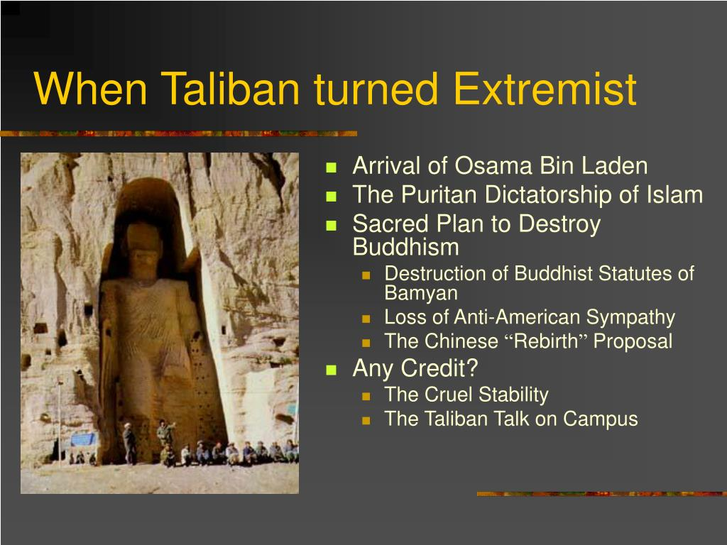 When Taliban turned Extremist