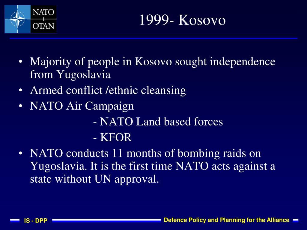 1999- Kosovo