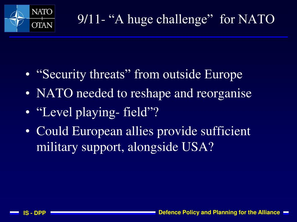 """Security threats"" from outside Europe"