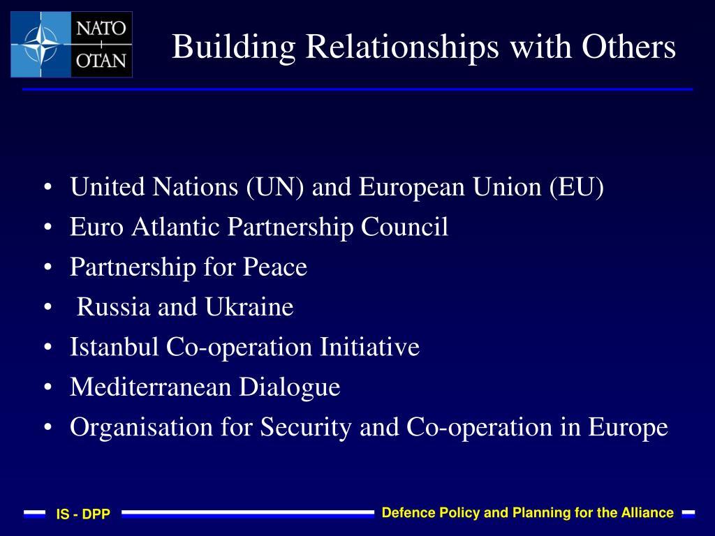 United Nations (UN) and European Union (EU)