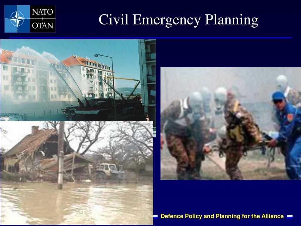 Civil Emergency Planning