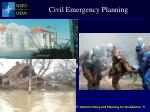 civil emergency planning