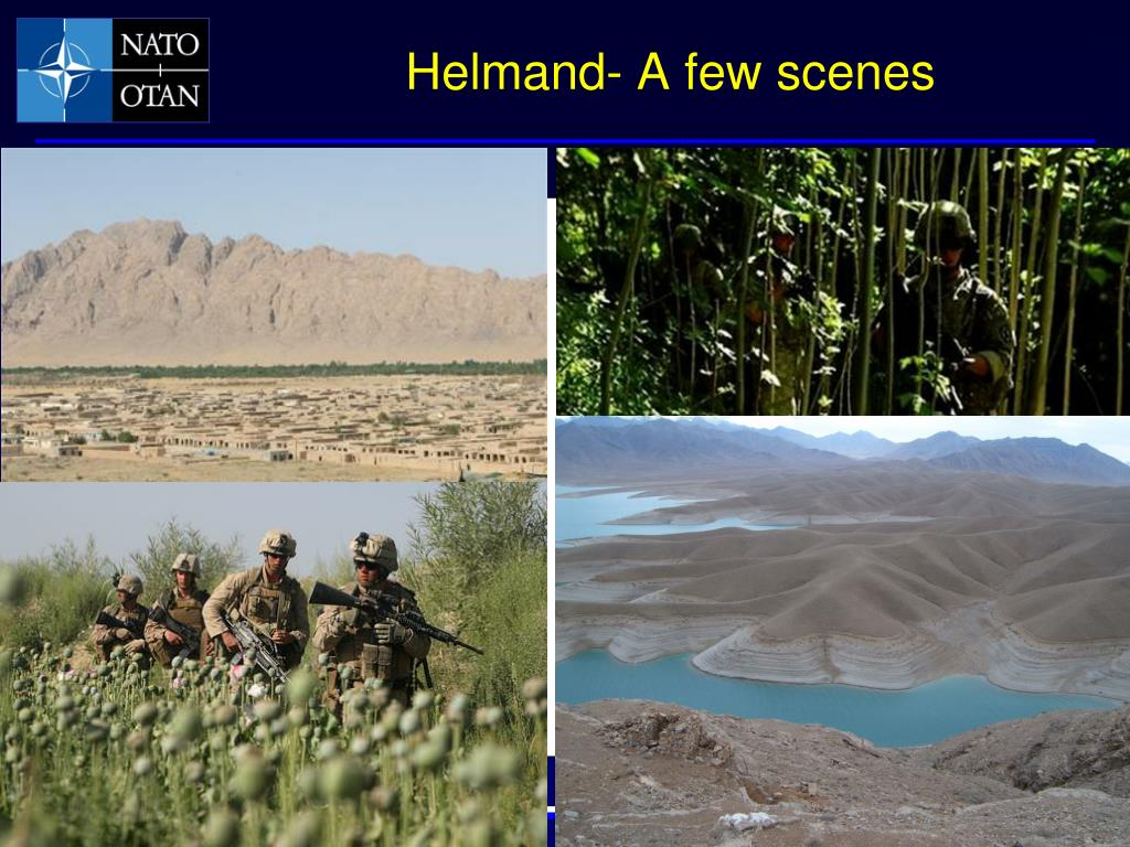 Helmand- A few scenes