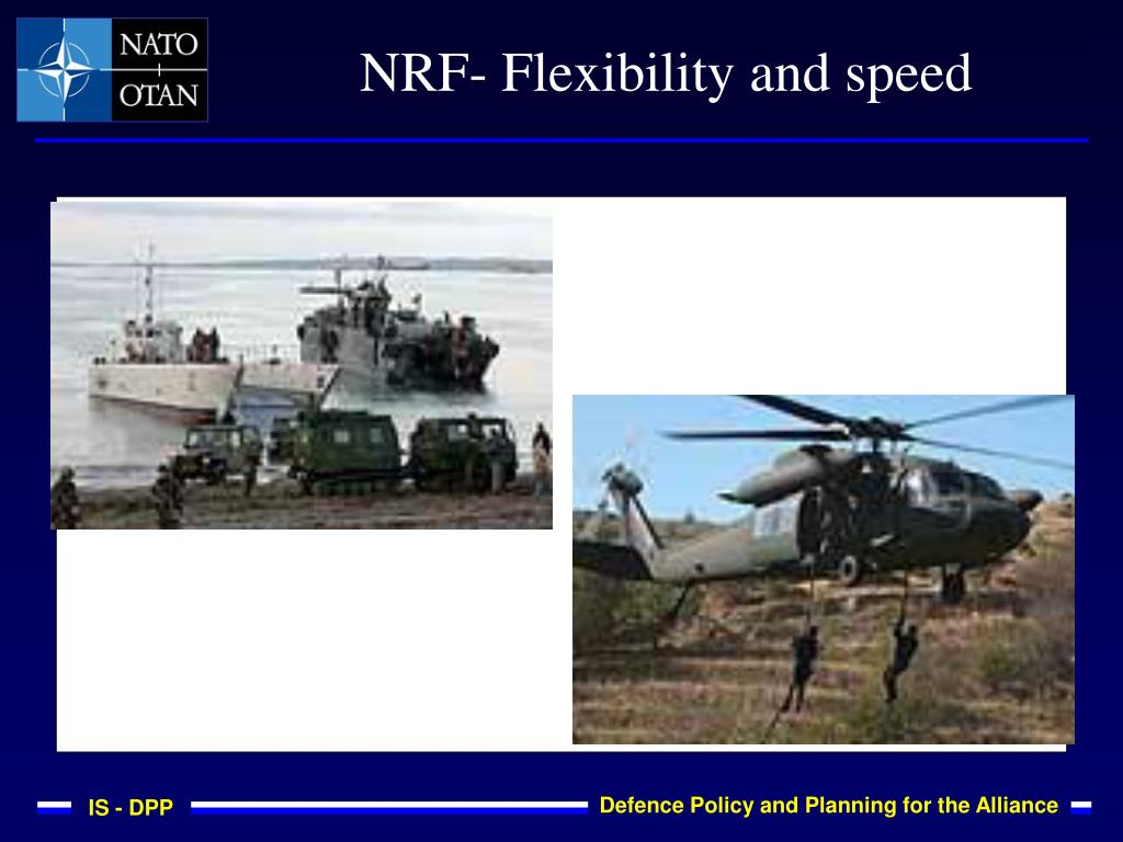 NRF- Flexibility and speed
