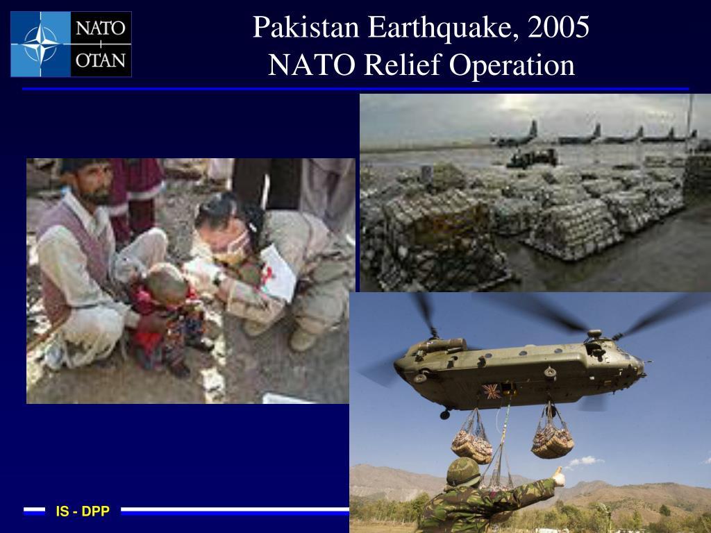 Pakistan Earthquake, 2005